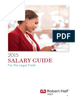 RobertHalf 2015 Legal Salary