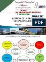 Sesion Nº 009 Diseño de Producciopn y Mkt Turistico