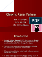 Chronic Renal Failure Presentation