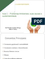 Aula1 Seres Humanos e Sustentatibilidade