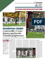 La Provincia Di Cremona 03-04-2019 - Grandiosa Cremo