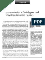 Condensation in Switchgears and anti condensation heater.pdf