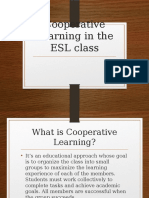 Cooperative Learning in the ESL Class
