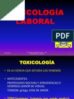 3 TOXICOLOGÍA