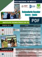 Calendario Ene-Jun 2019 Pptx