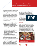 Bangladesh Successes and Lessons Learned From Nasirnaga Changing Hygiene Behavior in Schools