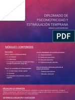 Diplomado de Psicomotricidad y Estimulación Temprana