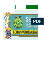 Edital Verticalizado - SEDUC AM - Professor