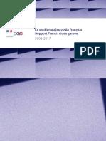Le soutien au jeu vidéo français