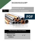 PROPIEDADES FISICAS DE LOS MATERIALES DE INGENIERIA.docx