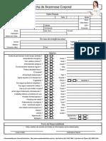 Ficha de Anamnese Corporal 1