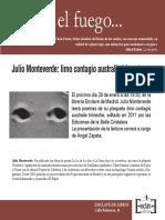 Invitación - Julio Monteverde