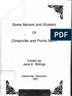 Some Movers and Shakers of Clintonville and Points North