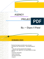 Gas Agency Management System Project Ppt