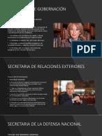 SECRETARIAS DE ESTADO .pptx