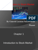 Chapter 1 Introduction to Stock Market 1