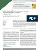 Modified Diatomite-supported CuO–TiO2 Composi