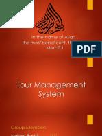 Tour Managemet