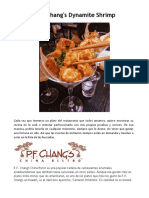 P.F. Chang's - Dynamite Shrimp