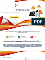 Quality Audits Management Software | Internal Audit Software - AuraQMS