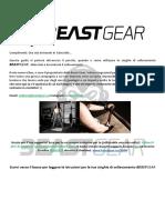 Beast Gear Guida Cinghie Sollevamento