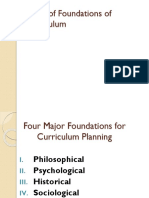 Major of Foundations of Curriculum.pptx