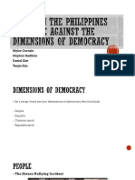 Issues in the Philippines that are against the dimensions of democracy.pptx