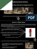 Presentazione Spray OC