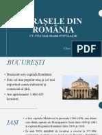 orasele româniei