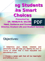 Helping Students Make Smart Choices