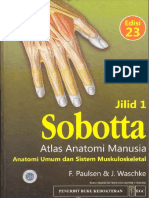 00. Cover Sobotta Atlas Anatomi Manusia Edisi 23 - Anatomi Umum dan Sistem Muskuloskeletal Jilid .pdf