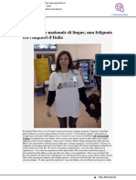 Una folignate tra i campioni delle lingue - Rgunotizie.it, 1 aprile 2019