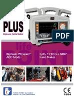 Defibrillator METsis BiPhasic PLUS Eng