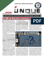 Revista Yunke Nº20, SAT- NAVANTIA, Feb-Marzo. Poniendo Rumbo a Nuestra Clase, Nuestra Mejor Empresa