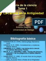 Historia de La Ciencia 1