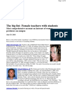 Female Teachers Sex Offenders