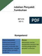 Pengendalian Penyakit Tumbuhan 2018