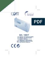 Manual Cronotermostato Digital Af126170 80