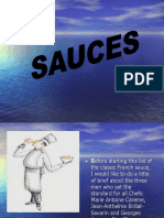 Classification of Sauces
