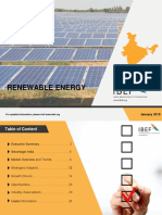 Renewable Energy statistics 2018 India
