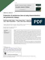 PMI Thanatochemistry