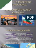 Proiect La Marketing International