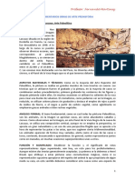 COMENTARIOS OBRAS DE ARTE PALEOLÍTICO