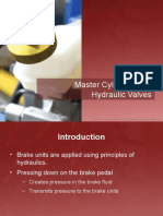 Unit 2 - Master Cylinders and Hydraulic Valves