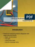 Unit 3 - Using a Multimeter Practice Experiments (1)