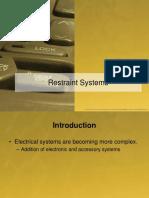 Unit 5 - Restraint Systems