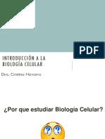 Clase 1 Biologia Celular