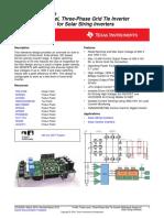 TIDA_10KW 3_level grid tied inverter refrence design TI.pdf