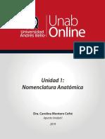 Unidad 1_nomenclatura Anatomia