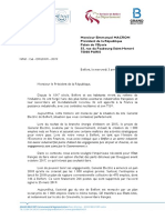 Les élus du Territoire de Belfort envoient un courrier à Emmanuel Macron